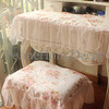 Pink Rose Lace Table Cloth - 70*120 / Taplak Meja