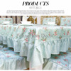 Tosca Floral Garden Table Cloth 150*200 - Taplak Meja