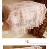 Pink Rose Lace Microwave Cover (3D)
