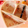 Heart Shaped Fabric Storage / Tempat Aksesoris Kosmetik
