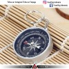 Travel Compass Outdoor American / Kompas Camping Portable - Black