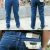 Celana Jeans Levis Big Size Jumbo Biru Wash Classic