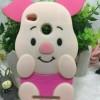 Softcase Xiomi Redmi 3 Pro /3s & Redmi 4A Piggy Pink