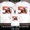 Baju Kaos Keluarga   UlangTahun   Couple   Motif Marsha Bisa Custom