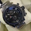EXPEDITION MEN 6381 M STAINLESS STEEL SILVER BLACK ORIGINAL