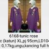 6168 Tunic Blouse Rose XL
