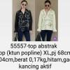 55557 Top Abstrak Blouse XL