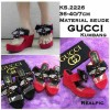 gucci kumbang wedges shoes