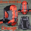 Backpack Semi Carrier Daypack Sioux 2105 RsL Orange Original