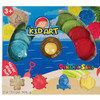 KidArt DS-400/LS Dynamic Sand Gift Set 400g w/ Stamp in Color Box