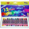 HiArt J012OP Jumbo Oil Pastel Crayon 12 pcs/Box