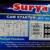 CAM STARTER 15A (15 ampere) 500V (500 volt) OHM SAKLAR HANDLE ORIGINAL
