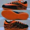 Sepatu Futsal Nike Hypervenom Kids / Anak-anak Hitam-Oren Grade Ori
