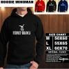 JAKET HOODIE MINUMAN FRANET BRANCA Hoodie/Sweater/No Zipper
