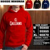 JAKET HOODIE MINUMAN Galliano Hoodie/Sweater/No Zipper