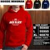 JAKET HOODIE MINUMAN JACK BLACK Hoodie/Sweater/No Zipper