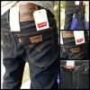 Celana Jeans Levis Pensil Skiiny Biru Hitam Garmen