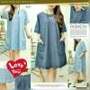 baju dress LQ 02-2014 Jeans Import