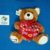 Boneka Bear Love / Kado / Hadiah / Souvenir Unik