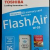 SD CARD WIFI WIRELESS TOSHIBA FLASH AIR 16GB FLASHAIR MEMORY KAMERA 16