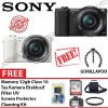 SONY ALPHA A5100 KIT 16-50MM PAKET DAHSYAT 32GB BLACK,WHITE,BROWN
