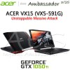 ACER ASPIRE VX15 (VX5-591G) - NVIDIA GeForce GTX 1050 Ti