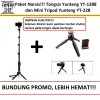 Tongsis Yunteng YT-1288 With Bluetooth Shutter dan Mini Tripod YT-228