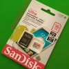 MICRO SD SANDISK ULTRA 16GB CLASS 10 80MB/S