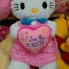 Boneka hello kitty jumbo bordir nama / ukir nama ukuran 1meter