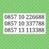 Nomor Cantik Im3 Seri Triple AA Perdana Cantik Ujung Couple 88$L7_68