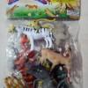 Mainan Hewan / Animals ( isi 12 Hewan )