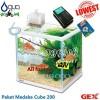 Paket Aquarium GEX Medaka Cube200