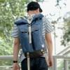 GROUND Coral Blue Tas Backpack Travel Bag
