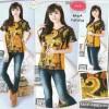 Blouse atasan katun batik import fashion wanita/cewek