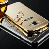 Samsung Galaxy J7 - J1 ACE MIRROR CASE metal bumper casing cermin