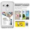 LG NEXUS 5X hard soft case cover clear RINGKE FUSION casing bumper