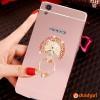 2in1 Mirror Case XIAOMI REDMI NOTE 4 + iRing Diamond - ROSEGOLD