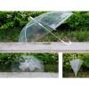 Promo Murah Payung Transparan PVC 8 Bone 60cm - Transparan