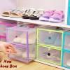 Kotak Tempat Penyimpanan Sepatu sandal Anak Pria Wanita Love Shoes Box