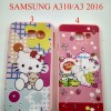 SOFTCASE HELLOKITTY PRINTING FOR SAMSUNG A310 A3 2016