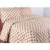Ellenov Sprei + Bedcover LV Krem Queen (160x200x20cm)