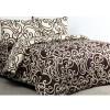 Ellenov Sprei + Bedcover Teralis Coklat Krem Queen (160x200x20cm)