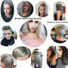 grey hair cream / wax color hair style
