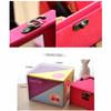 kotak perhiasan / princess velvet jewelry box HKO001