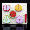 Puzzle Chunky Educational Toys Anak Potong Memotong Buah Buahan ME052
