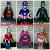 KOSTUM SUPERHERO ANAK ( BATMAN, SUPERMAN, SPIDERMAN, CAPTAIN AMERICA,