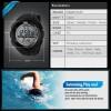 SKMEI Sport Watch 1025 Original Water Resistant 50M - Black