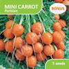 Bonus B - Benih Mini Carrot Parisian (Wortel)