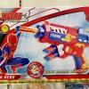 mainan action figure pistol nerfv avanger spiderman