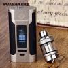 Siap Ngebul Vape WISMEC PREDATOR 228 228W+ ELABO TANK+ 2 batre+ liquid